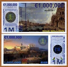 Europe, 1000000 (1,000,000) Euro, Private Issue POLYMER, 2014, UNC