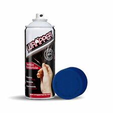 Wrapper Spray Vernice Removibile Tinta Speciale Blu Metallizzato