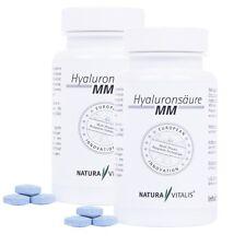 Natura Vitalis® Hyaluronsäure MM 2-Phasen Presslinge 2 x 120 Stück
