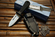 New Cold Steel Super Edge Mini Pocket EDC Knife Tactical Survival Hunting Knives