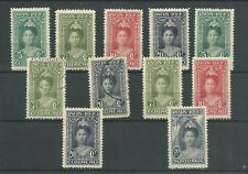 Curacao  kaartje JUBILEUM 1923  VFU en  MH/ongebr CV 30€