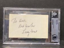 Larry Foust AUTOGRAPH Beckett Authentic NBA Pistons/Lakers/Hawks D.1984 AUTO