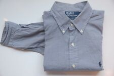 Polo by Ralph Lauren Hemd langarm - Gr L - blau kariert - sehr gut 131017-95