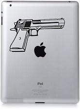 Novelty Hand Gun Desert Eagle Style Sticker Vinyl decal/ iPad/ laptop