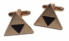 The Legend Of ZELDA Triforce Logo Metal/Enamel Cufflinks