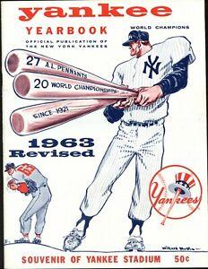 1963 New York Yankees Revised Yearbook EXMT/NRMT