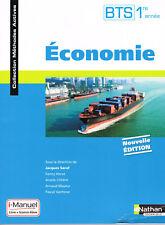 BTS 1 re année - Economie - Saraf, Nathan technique 2016, coll méthodes actives