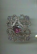 Hobe Purple Amethyst Maltese Pin