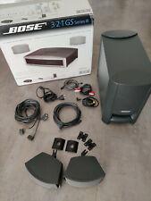 Bose 321 3-2-1 GS Series III 2.1 Heimkino - hier nur Lautsprecher + Subwoofer