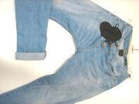 Please Denim Jeans Modell P78 Denim hellblau EN3D2C -P78A 1670 Gr. XS 2018..