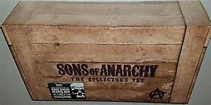 SONS OF ANARCHY Seasons 1-6 (19-Disc Blu-ray) Reaper Samcro Box Collector's Set
