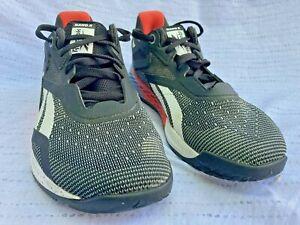 Reebok Nano X Men's US7.5 Cross Training Shoes, Multicolored, Excellent, 1Y3501