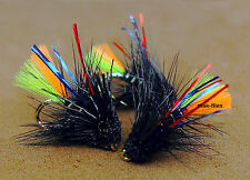 mak's Quality Hand Tied, 3 x Cracking New 2017 Clan Chief Muddlers Trout Flies