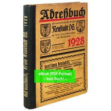 eBook: Adreßbuch Kreis Neustadt Oberschlesien 1928  - AB084