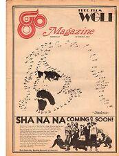 FRANK ZAPPA SHA NA NA GO MAGAZINE WMCA OCT 17 1969