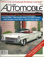 Collectible Automobile June 1988 Vol 5 - No 1