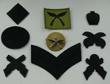 British Army Royal Gurkha Rifles Cap/Rank Sniper/Marksman Trade Badges & TRF