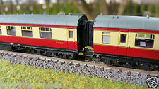 N Gauge 2mm Stanier Graham Farish / Bachmann Bellows Corridor Connectors x 12