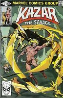 Ka-Zar Comic 2 The Savage Bronze Age First Print 1981 Jones Anderson Marvel