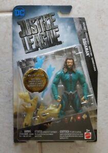 NEW MATTEL DC JUSTICE LEAGUE BATTLE ARMOR AQUAMAN ACTION FIGURE! R65