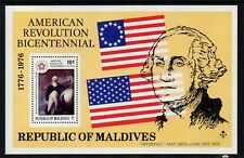 Maldive Islands 1976 Interphil Minisheet - SG MS653 - UM