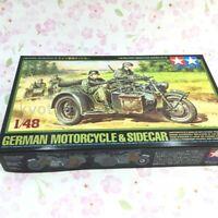 TAMIYA 32578 1/48 scale No.78 German Motorcycle & Sidecar 54900 JAPAN IMPORT