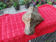 Ornate Cast Iron Bathtub Foot. Restoration.Vintage Antique. Bathroom