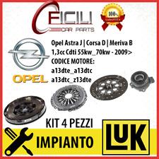 KIT FRIZIONE+VOLANO+CUSCINETTO Opel Astra J Corsa D Meriva B | 1.3 CDTi 55-70 kw