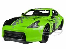 "2009 NISSAN 370Z #88 GREEN 1/24 ""ALL STARS"" DIECAST MODEL CAR MAISTO 31353"