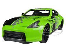 "2009 NISSAN 370Z #88 GREEN 1/24 ""ALL STARS"" DIECAST MODEL CAR MAISTO 31353"