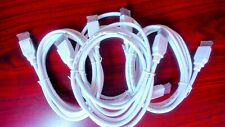 Monoprice DisplayPort 1.4 Cable - 6ft - White 8K, UHD, HBR3, 32.4Gbps - New