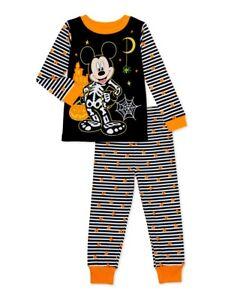 Disney Mickey Mouse Pajama Set Toddler Boys Various Sizes NWT