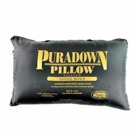 Puradown Australian Made 80% Goose Down King Size Pillow 50 x 90cm RRP $279