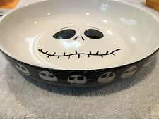 Disney Nightmare Before Christmas Jack Skellington 9 in  Candy Dish Bowl