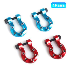 2Pcs RC Car Crawler Bumper Trailer Metal Shackle Tow Hooks for Traxxas TRX4 Fig