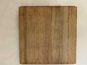 "Vintage - Unused  Bruce Cumberland Oak Parquet Floor 5/16"" By 6""x6"""