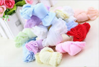 NEW 5 Pair Lovely Newborn Baby Girls Boys Soft Socks Mixed Color DSND
