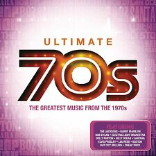 VARIOUS ARTISTS - ULTIMATE 70's: 4CD ALBUM BOX SET (May 4th 2015)