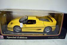 Maisto 1:18 50263 Ferrari F 50 Coupé, gelb, Die Cast