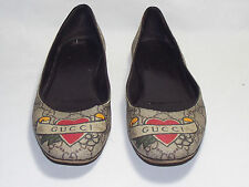 Gucci Flat (less than 0.5') Canvas Shoes for Women
