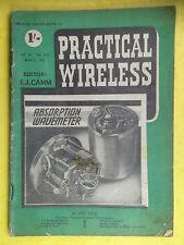 PRACTICAL WIRELESS - Magazine - March 1951 - Absorption Wavemeter