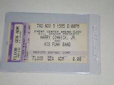 Harry Connick Jr & Funk Band Concert Ticket Stub-1995-She Tour-San Jose,Ca