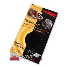 "HushMat ULTRA Door Speaker Kit 10110 Black Color Sound Deadening 2 sq.ft. 6""x12"""