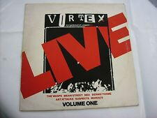 LIVE AT THE VORTEX - LP VINYL VERY GOOD CONDITION 1978 - MANIACS - WASPS - NEO