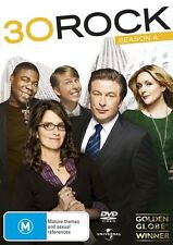 30 Rock : Season 4 (DVD, 2010, 3-Disc Set) VGC region 4 -  PRE OWNED (box D1)