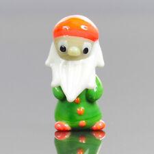 Handmade Vintage Pasta Vitrea Gnome / Elf Figure - 1960s Murano Glass