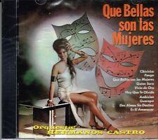 Orquesta Hermanos Castro Que Bellas Son Las Mujeres BRAND EW SEALED  CD