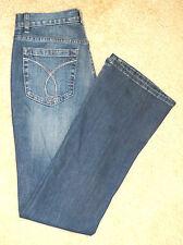NWT Woman Calvin Klein Wide Leg Jeans Pants Size 27