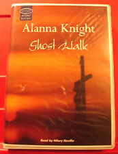 Alanna Knight Ghost Walk Rose McQuinn 6-Tape UNABR.Audio Book Hilary Neville