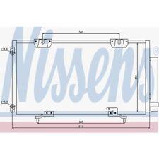 Nissens Kondensator, Klimaanlage Toyota Avensis,Avensis Liftback 94833 Toyota
